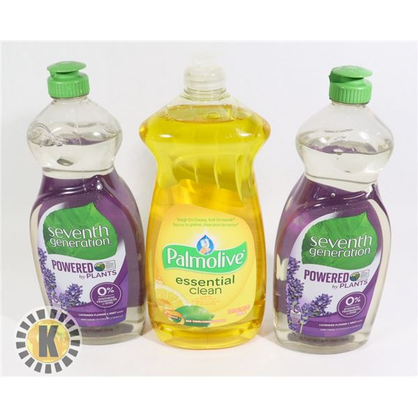 PALM OLIVE & SEVEN GENERATION DISH SOAP