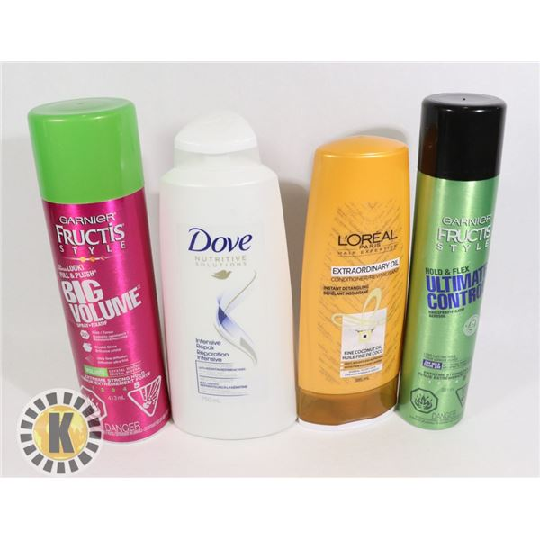 BAG OF DOVE, L'OREAL & FRUCTIS HAIR PRODUCT