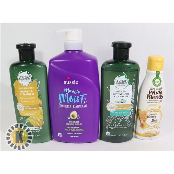 WHOLE BLENDS & HERBAL ESSENCES HAIR PRODUCT