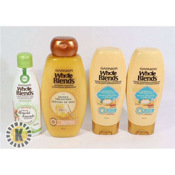BAG OF WHOLE BLEND HAIR PRODUCTS