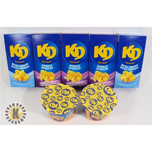 PACKS OF ASSORTED  KRAFT DINNER