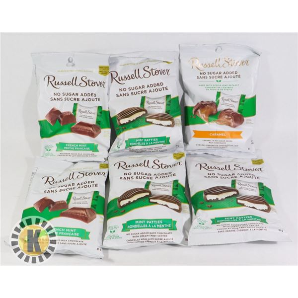 BAG OF RUSELL STOVER CANDY