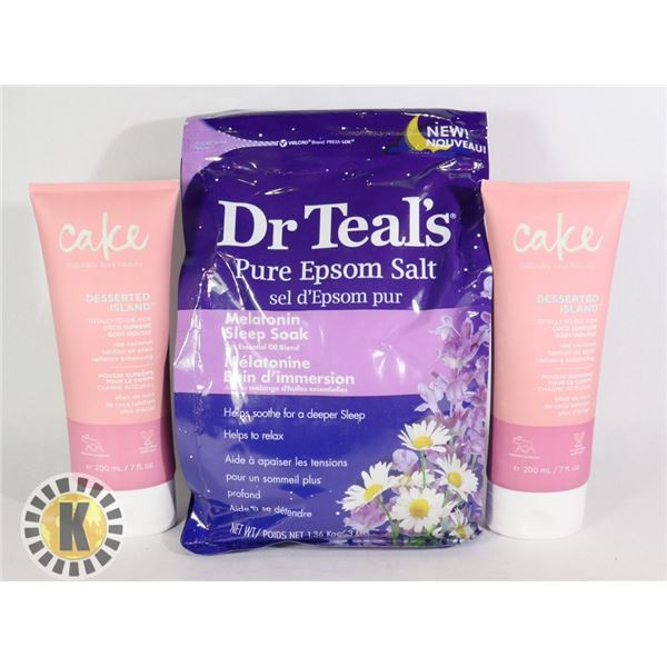 DR TEAL'S PURE EPSOM SALT & SKIN CARE PRODUCT