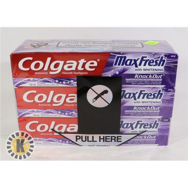COLGATE MAX FRESH WHITENING