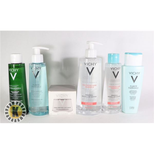 BAG OF VICHY SKIN CARE PRODUCT