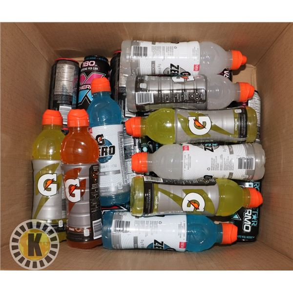 BOX OF BEVERAGES