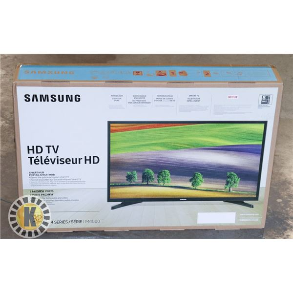 """SAMSUNG 32"""" SMART TV WITH 2 HDMI PORTS"""