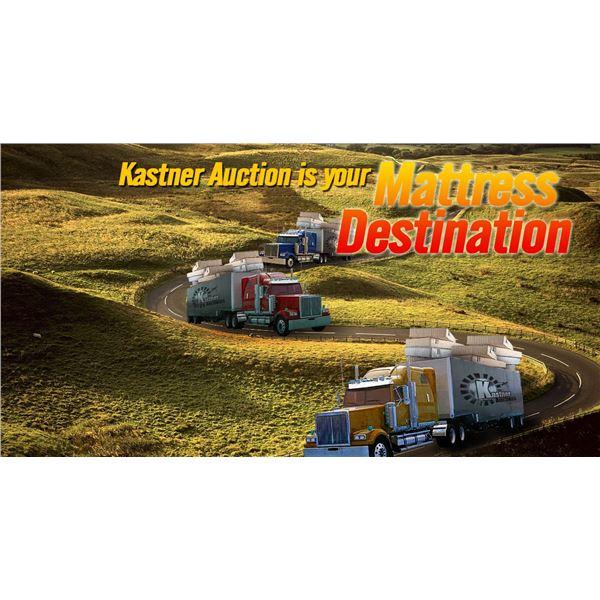 KASTNER AUCTIONS LIQUIDATES MATTRESS
