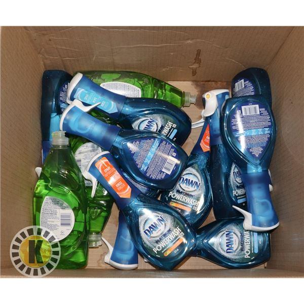 BOX OF SPRAY DETERGENT/ SOAP