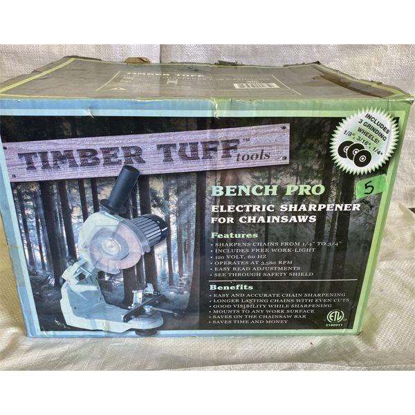 TIMBER TUFF TOOLS - CHAIN SAW SHARPENER - NEW IN BOX