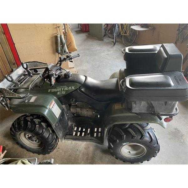 HONDA FOURTRAX - ES MODEL 250 CC's ATV - APPEARS IN GOOD CONDITION
