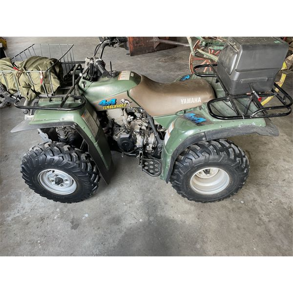 YAMAHA TIMBERWOLF MODEL 250 CC's - 4x4 ATV - APPEARS IN GOOD CONDITION - NO OWNERSHIP