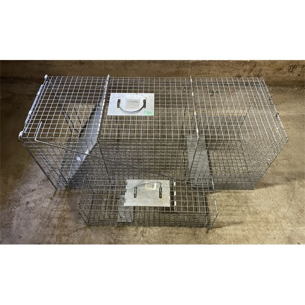 LOT OF 2 LIVE TRAPS