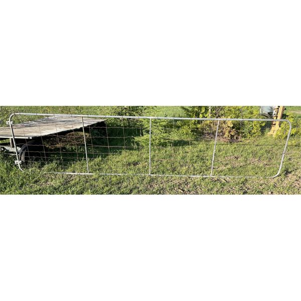 18 FT WIRE GATE - GOOD CONDITION