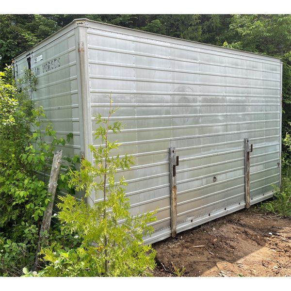 14 FT. TRUCK BODY, STORAGE CONTAINER