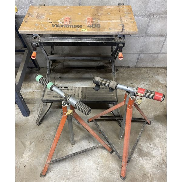 WORKMATE TABLE, 2 ROLLERS