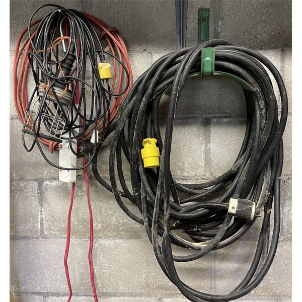 220V EXTENSION CORD, MISC WIRE