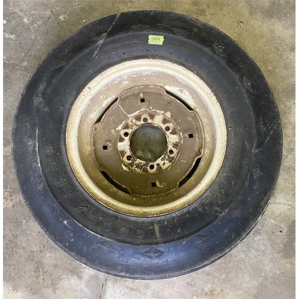 GOODYEAR 7.50-16 TRACTOR TIRE