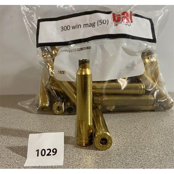 BRASS: 50X 300 WIN MAG