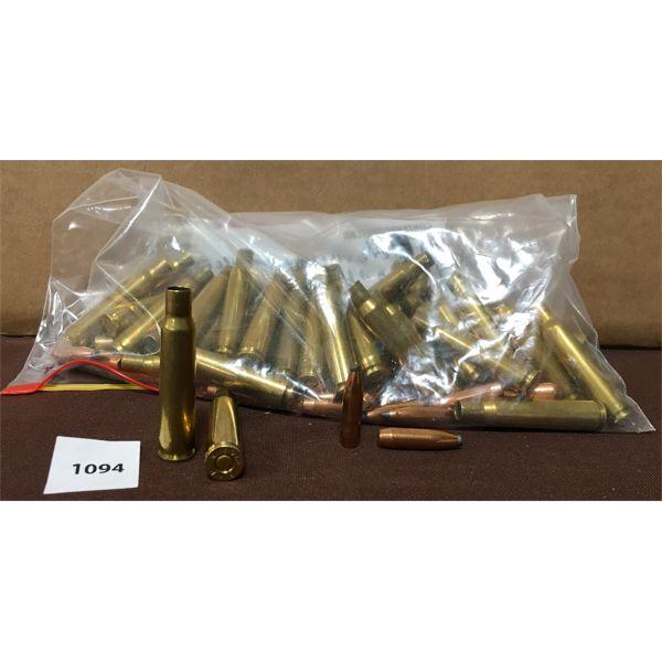 BULLETS & BRASS: 45 X 270 WIN PRIMED & 45 X 150 GR