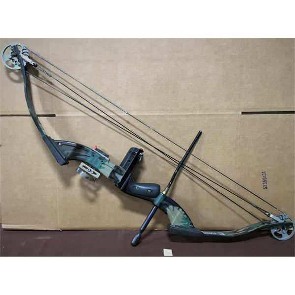 PSE CARROLL COMPOUND BOW 70-80 LB, RIGHT