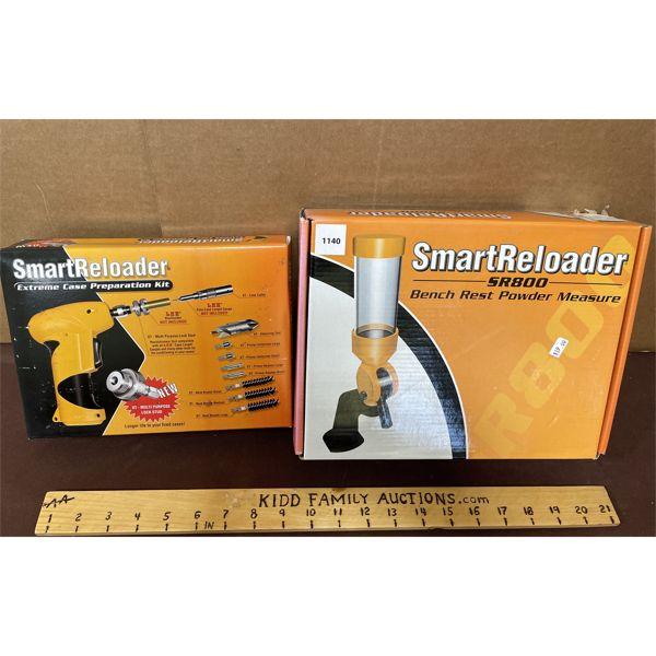 LOT OF 2 - SMART RELOADER POWDER MEASURE AND CASE PREPARATION KIT