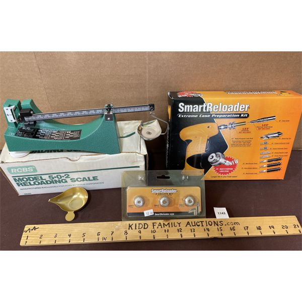 LOT OF 3 - RELOADING SCALE AND CASE PREPARATION KIT