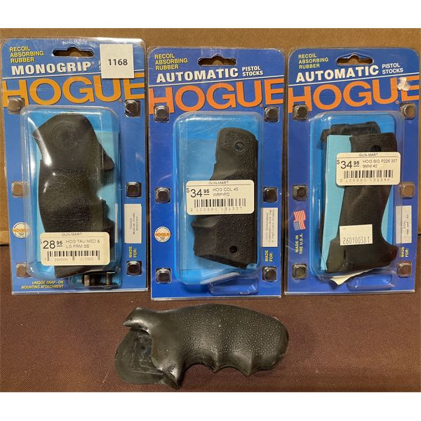 LOT OF 4 - HOGUE GRIPS