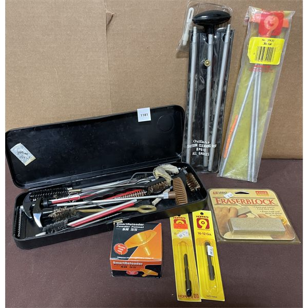 JOB LOT OF CLEANING TOOLS