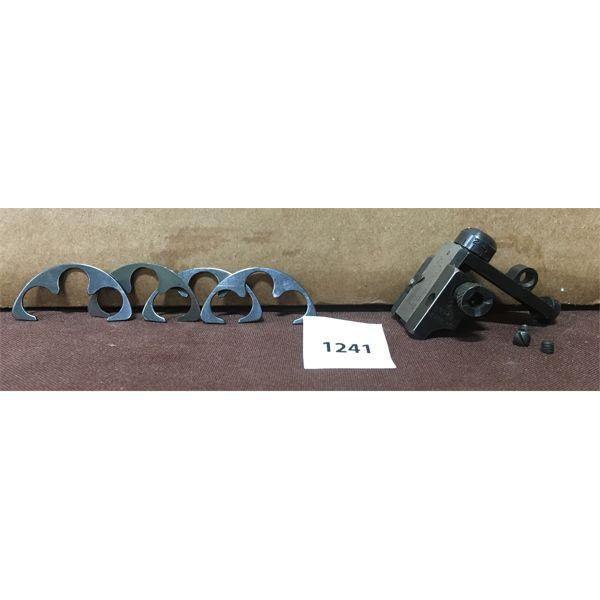 LYMAN PEEP SIGHT & S&W 1917 45 ACP MOON CLIPS