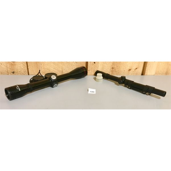 LOT OF 2 - NORCONIA 4 X 40 & 4 X 15 SCOPES - CLEAR