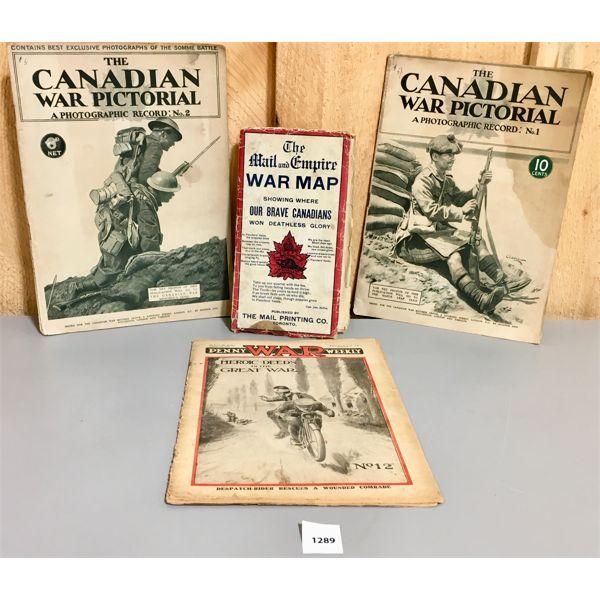 LOT OF 4 - WWI PUBLICATIONS