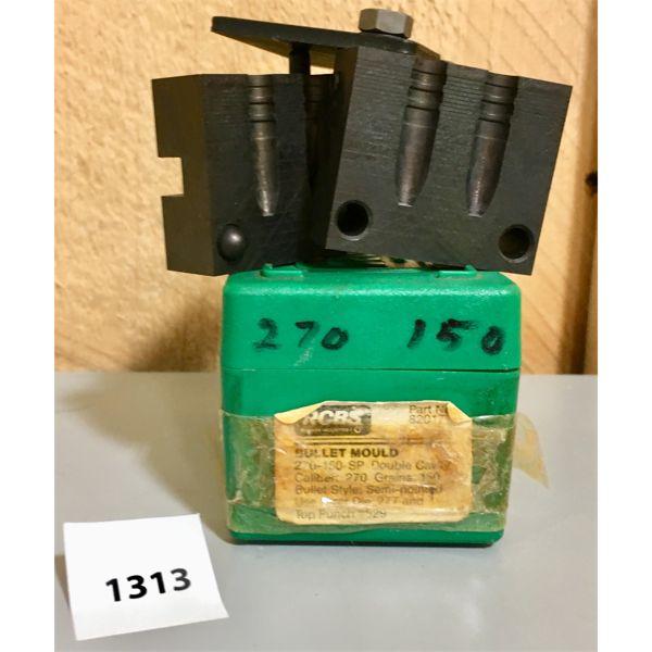 RCBS DBL CAVITY .270 CAL 150 GR BULLET MOULD