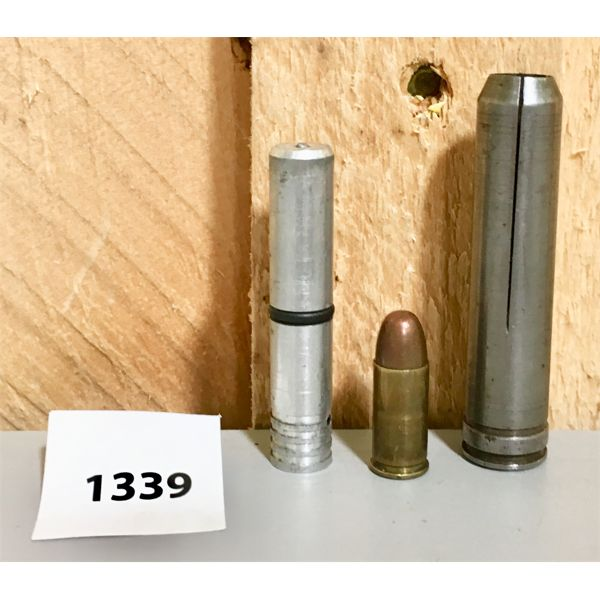 WINCHESTER .300 MAG TO .32 ACP CHAMBER ADAPTER W/ 1 X LIVE RND