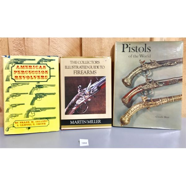 LOT OF 3 - FIREARM REFERENCE BOOKS