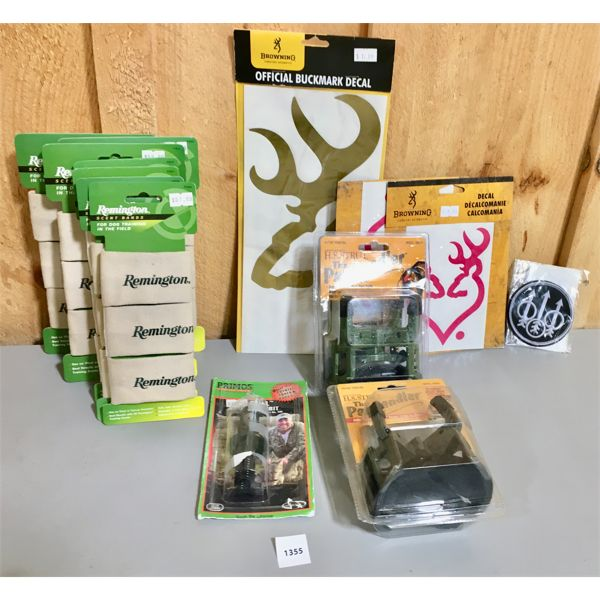 JOB LOT - GAME CALL, DECALS, PATCH, ETC