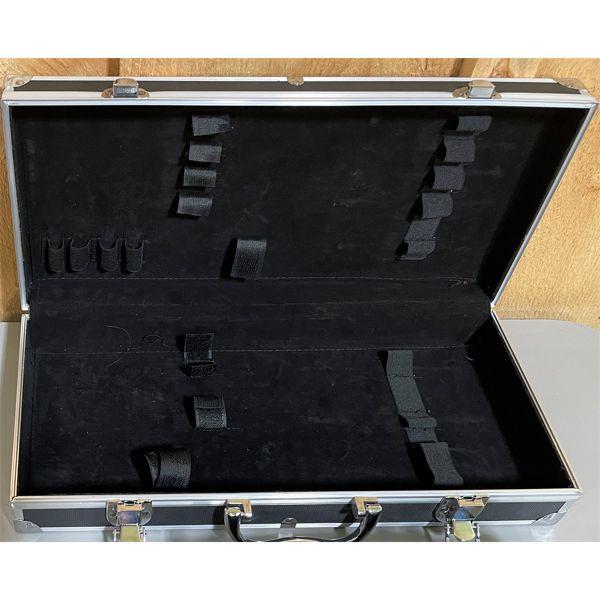 2 PLANO PISTOL HARD CASES, & OTHER HARD CASE; LOT