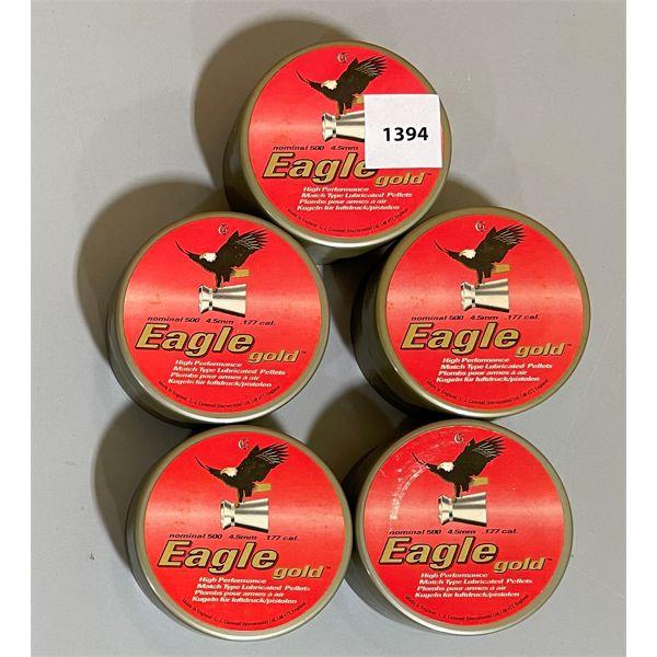 2500 EAGLE .177 PELLETS