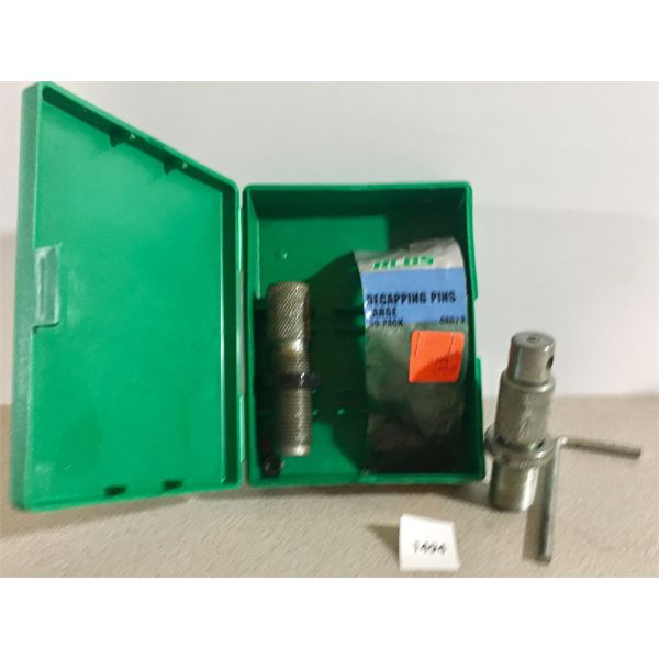 RCBS UNIVERSAL DECAPPING DIE, DECAP PINS, COLLET BULLET PULLER