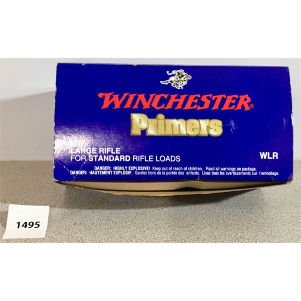 PRIMERS: 700X WINCHESTER LARGE RIFLE, STANDARD