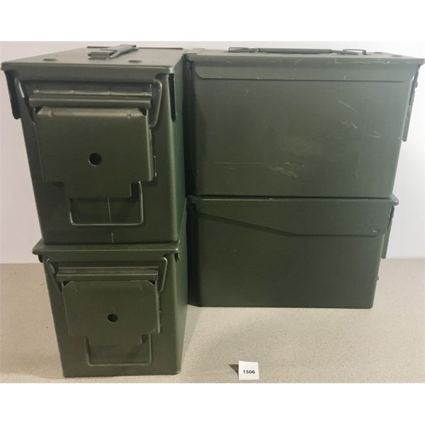 4X AMMO CANS