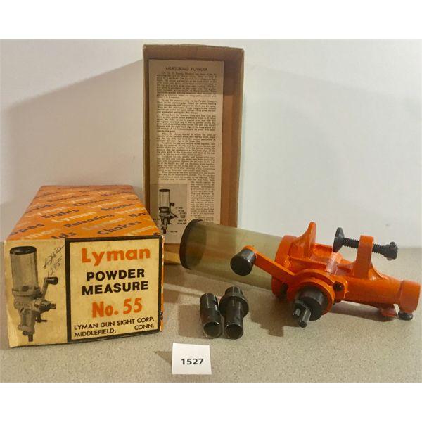 LYMAN POWDER MEASURE NO. 55