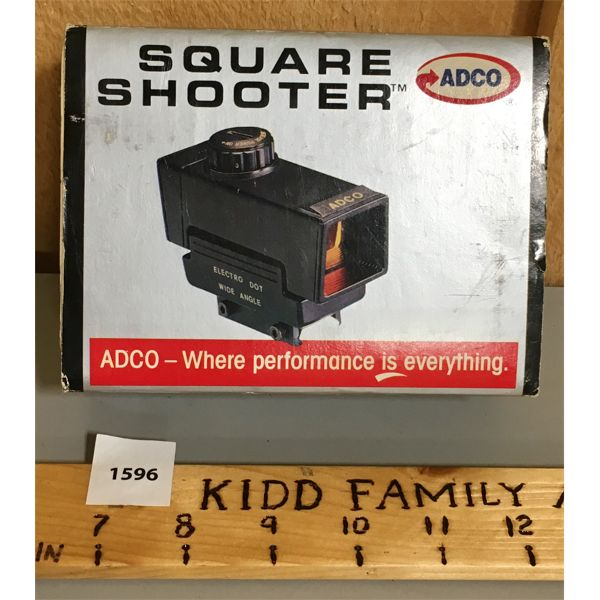 ADCO RED DOT SIGHT - AS NEW