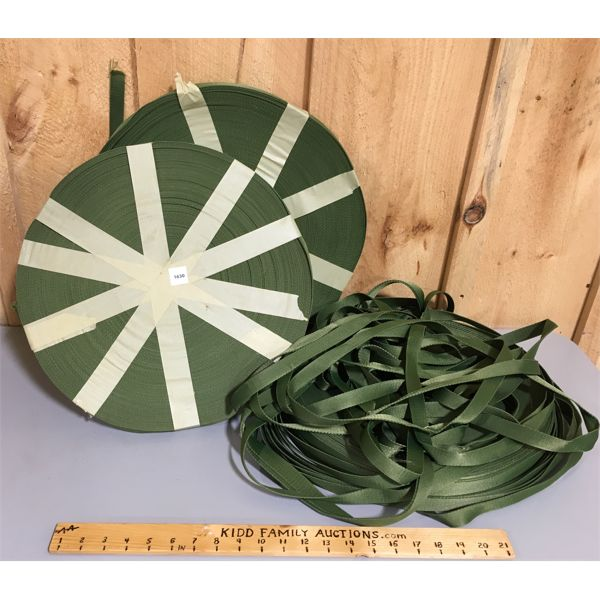 LARGE QTY OF NYLON? STRAPPING