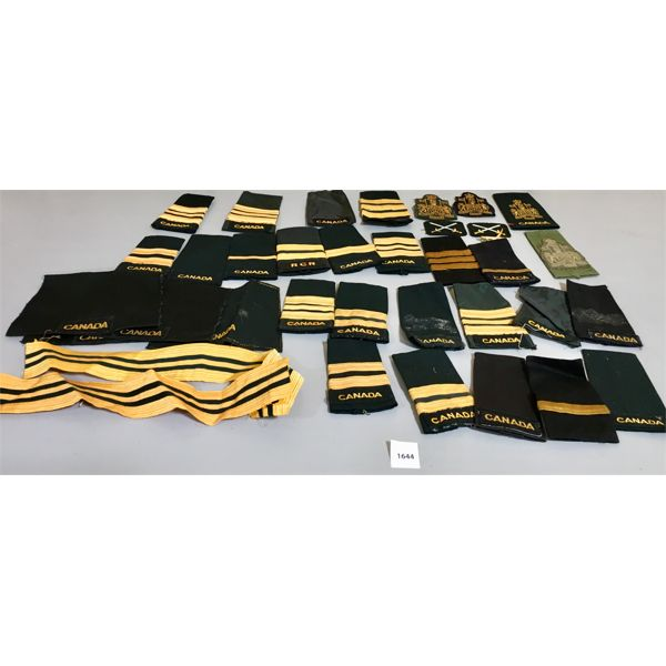 LOT OF CANADIAN MILITARY SHOULDER FLASHES
