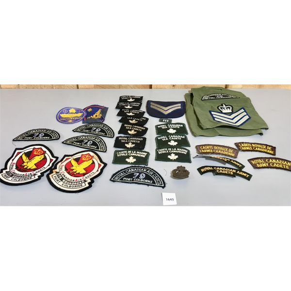 CANADIAN MILITARY PATCHES- CADETS