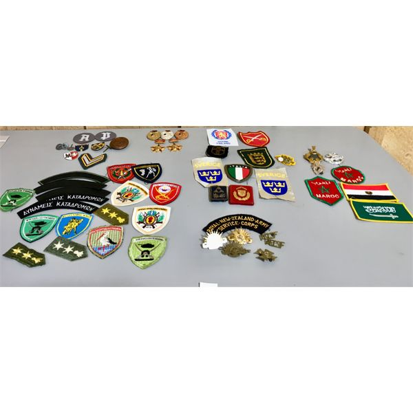 FORIGEN MILITARY PATCHES