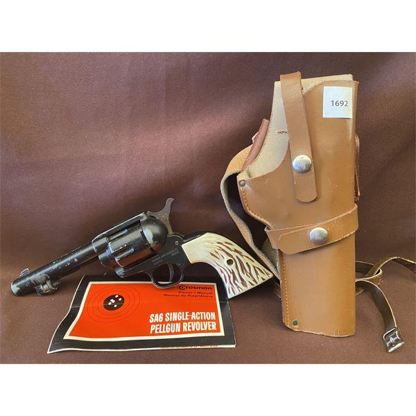 CROSMAN PELLET GUN W/ HOLSTER - NO PAL REQUIRED