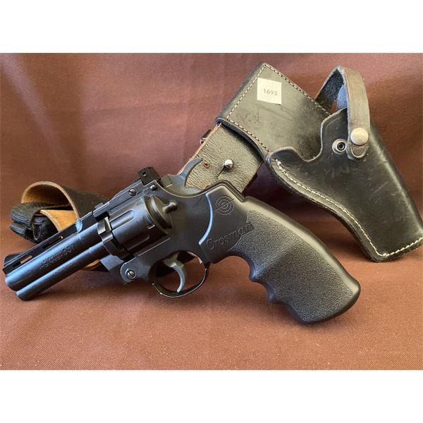 CROSMAN MODEL 357 PELLET GUN W/ LEATHER HOLSTER - NO PAL REQUIRED