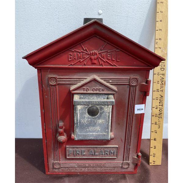 ANTIQUE FIRE BOX